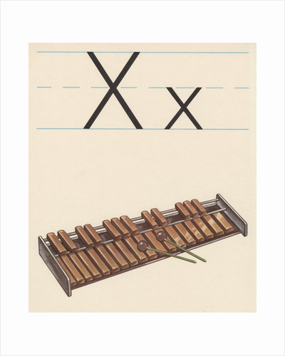 X is for xylophone by Corbis