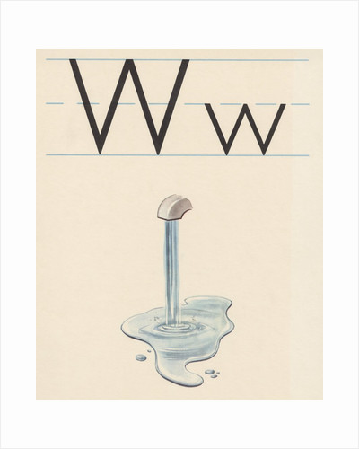 W is for water by Corbis
