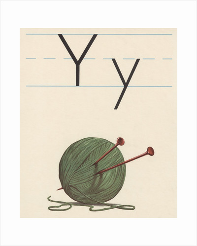 Y is for yarn by Corbis