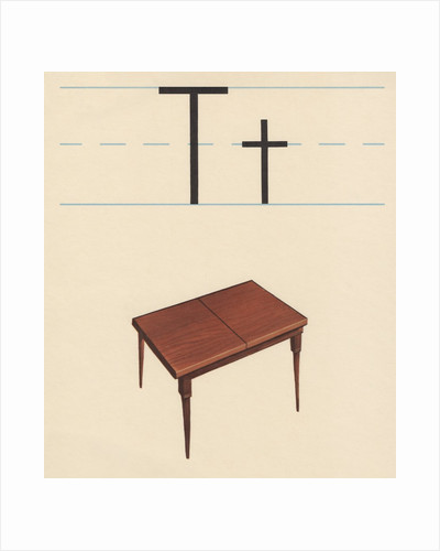 T is for table by Corbis