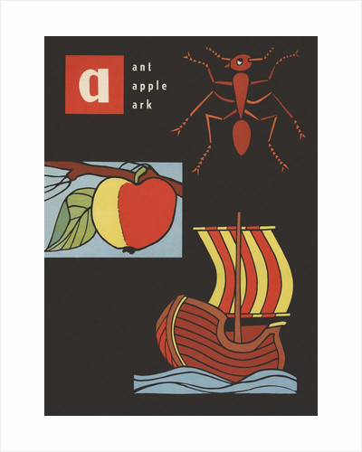 A is for ant apple ark by Corbis