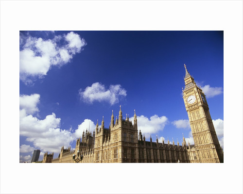 Houses of Parliament and Big Ben, London, UK by Corbis