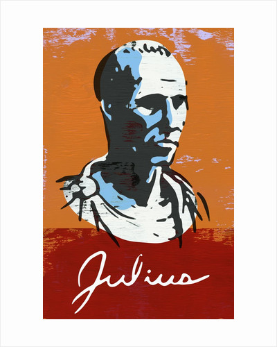 Portrait of Julius Caesar by Corbis