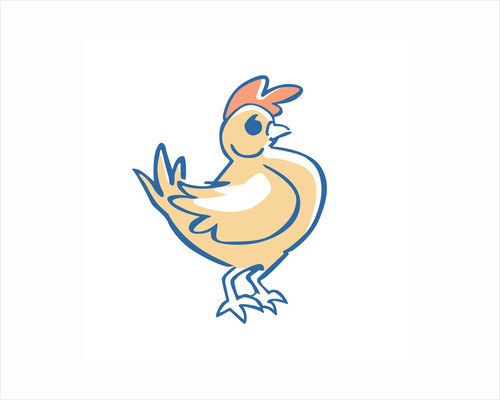 Cartoon Chicken by Corbis