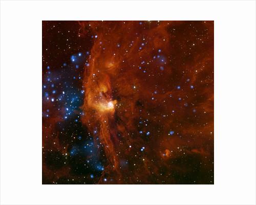Star forming region of the Milky Way Galaxy by Corbis