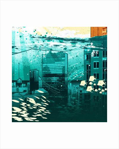 Urban fishbowl by Corbis