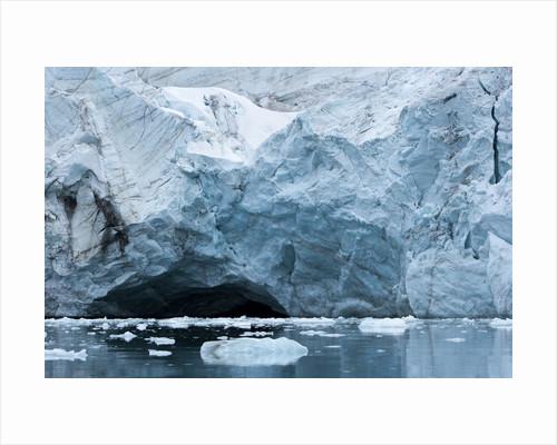 Glacier Ice, Spitsbergen Island, Svalbard, Norway by Corbis