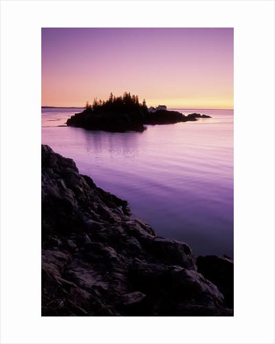 East Quoddy Lighthouse at Sunrise, Campobello Island, New Brunswick, Canada by Corbis