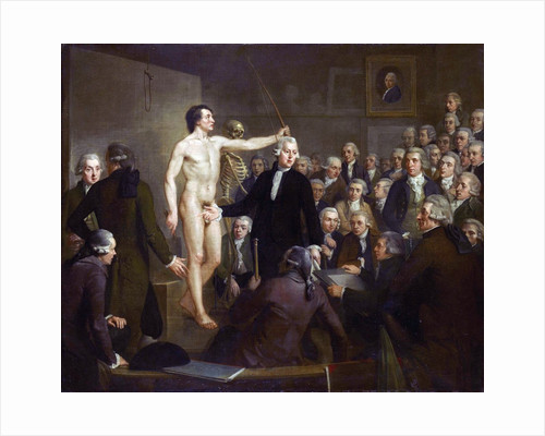 Anatomy Lecture by Andreas Bonn at the Felix Meritis Society in Amsterdam by Adriaan de Lelie