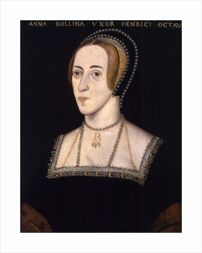 Anonymous portrait of Anne Boleyn by Corbis