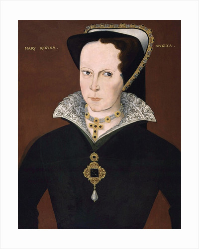 Anonymous portrait of Queen Mary I by Corbis