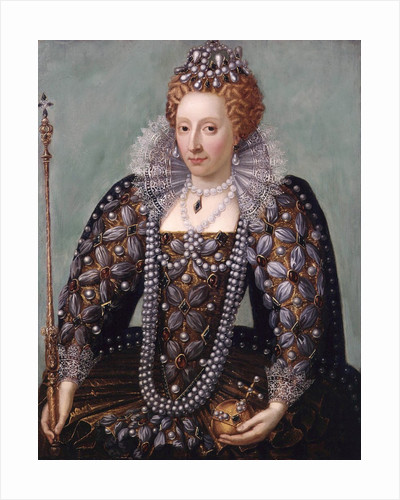 Anonymous portrait of Queen Elizabeth I by Corbis