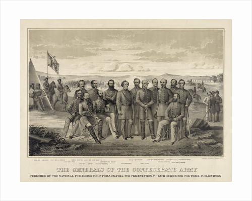 The Generals of the Confederate Army by Corbis