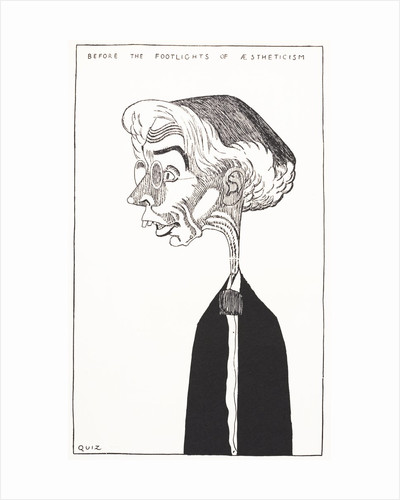 Caricature of Art Critic Roger Fry by Corbis