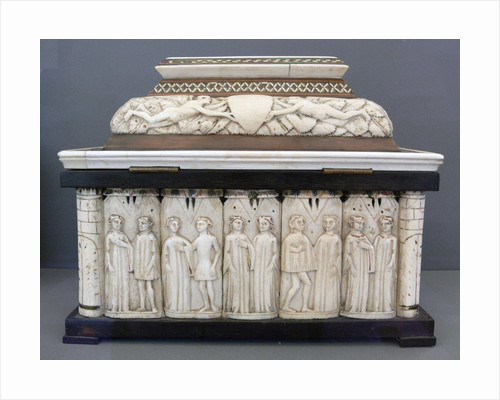 Embriachi workshop jewelery casket with pairs of lovers by Corbis