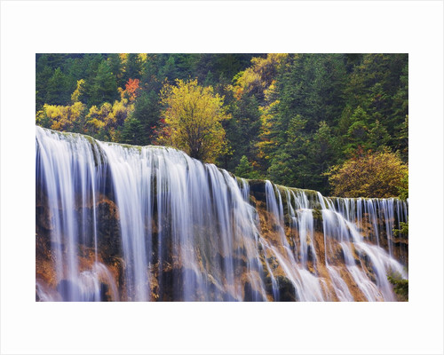 Pearl Waterfall in China by Corbis