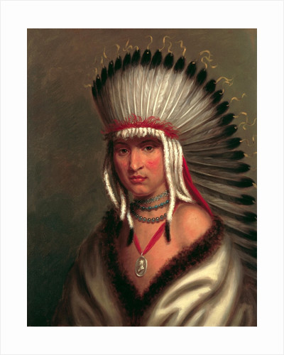 Petalesharo (Generous Chief) by Charles Bird King