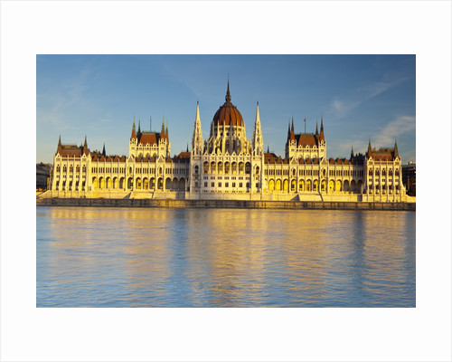 Hungarian Parliament Building in Budapest by Corbis