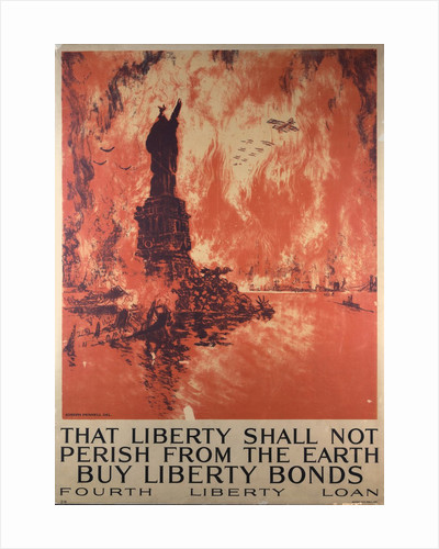 That Liberty Shall Not Perish from the Earth - Buy Liberty Bonds poster by Ketterlinus