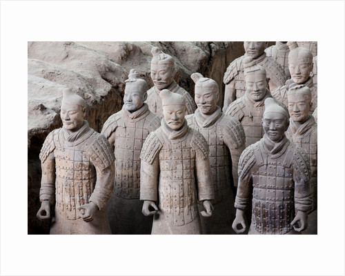 Terracotta soldiers at Qin Shi Huangdi Tomb by Corbis