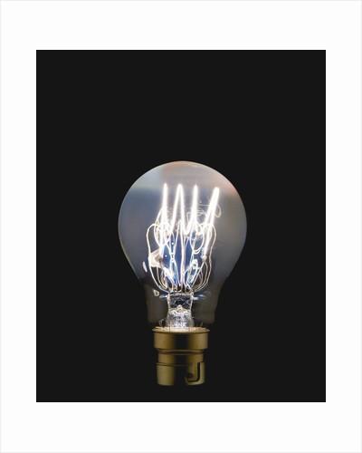 Light blub by Corbis