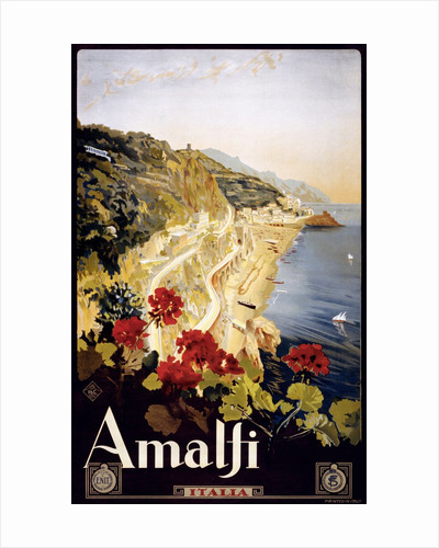 Amalfi poster by Corbis