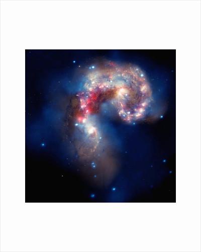 Antennae galaxies by Corbis