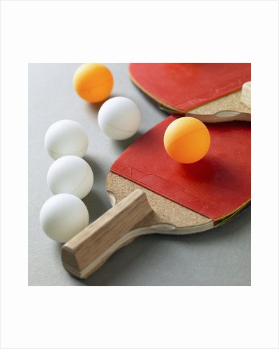Table tennis gears by Corbis