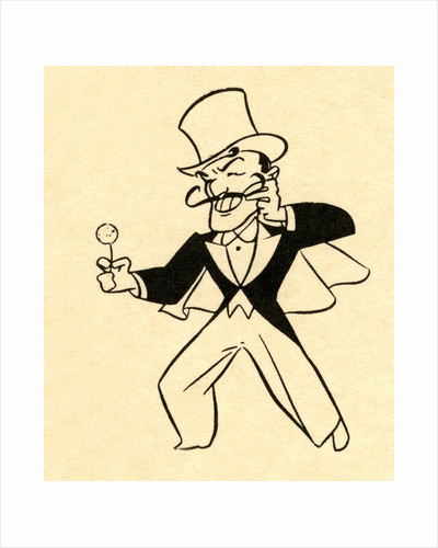 Magician in top hat by Corbis