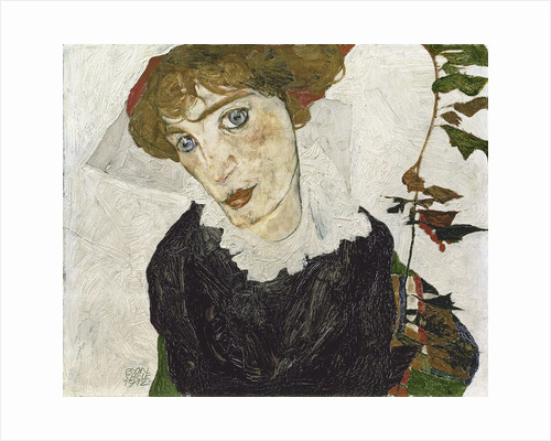 Portrait of Wally Neuzil by Egon Schiele