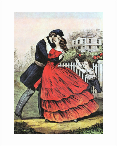 Home from the War by Currier & Ives