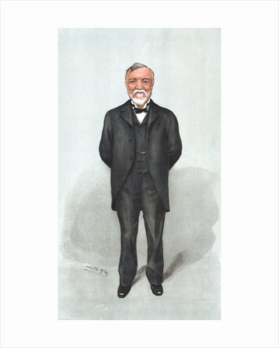Caricature of Andrew Carnegie by Corbis