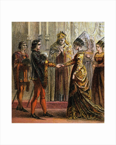 Marriage of Henry V by Corbis