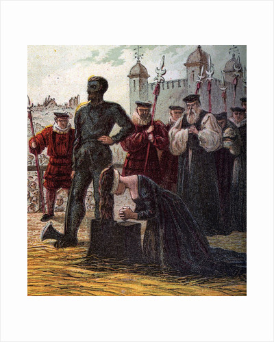 Execution of Lady Jane Grey by Corbis