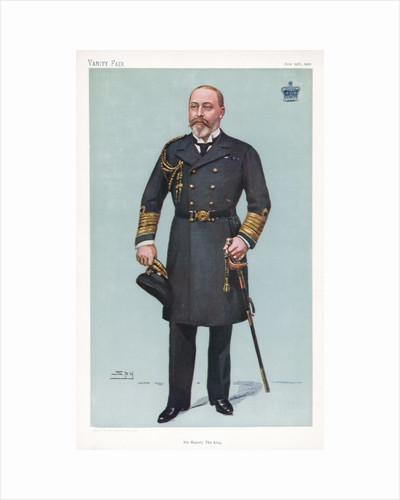 King Edward VII in naval uniform by Corbis