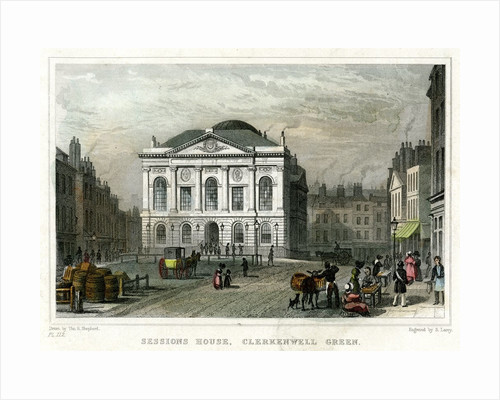 Sessions House and Clerkenwell Green by Corbis