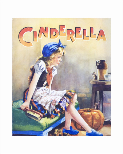 Cindarella with pumpkin and mice by Corbis