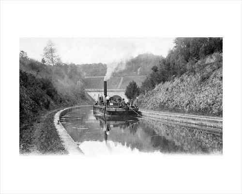 A steam chain tug by Corbis