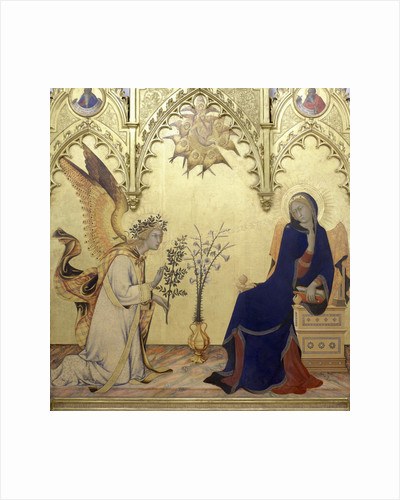 The Annunciation by Simone Martini