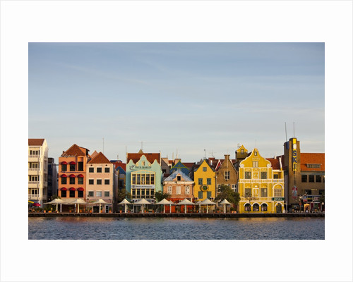 Colonial Architecture at Willemstad, Netherlands Antilles by Corbis