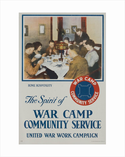 The Spirit of War Camp Community Service poster by Corbis