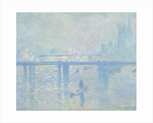 Charing Cross Bridge, London by Claude Monet