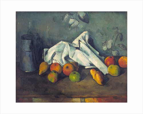 Still Life with Milk Can and Apples by Paul Cezanne