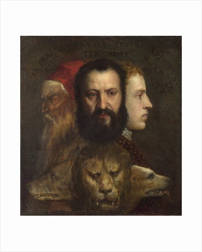 An Allegory of Prudence by Titian