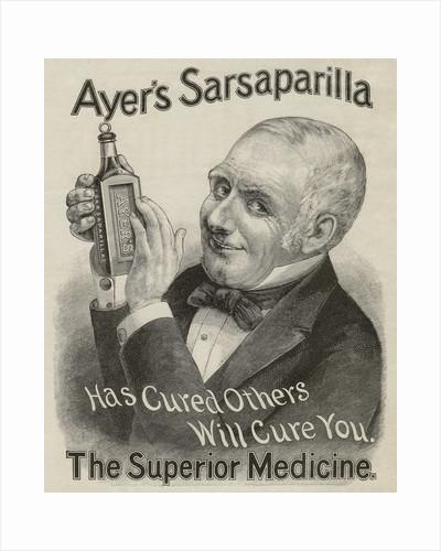 Ayer's Sarsaparilla advertisement by Corbis