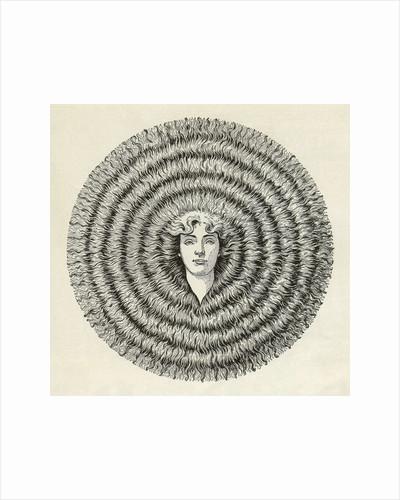 Ayer's Hair Vigor advertisement by Corbis