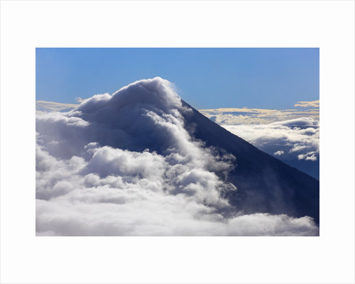 Mountain impression Agua volcano seen from Acatenango by Corbis