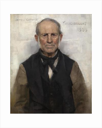 Old Willie - the Village Worthy by Sir James Guthrie