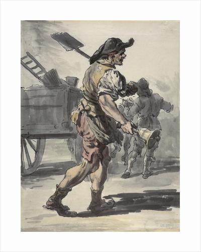 A London coalman by Paul Sandby