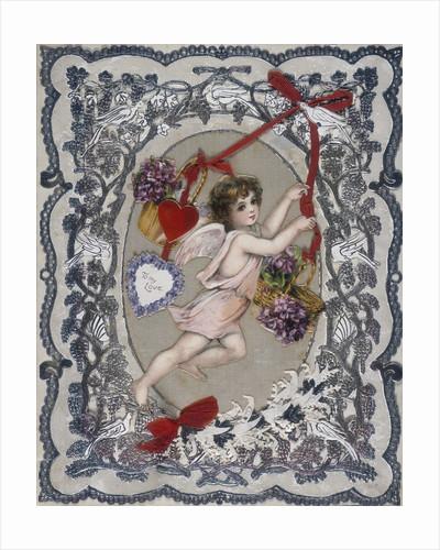 19th century Valentine's card by Corbis